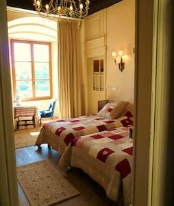 Chambre de la Vallée dans un château MH XIème - Jaulny - Slott
