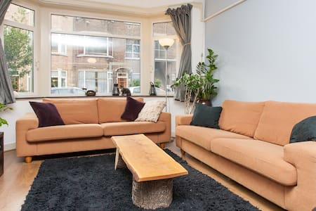 spacious apartment with backyard - Apartamento