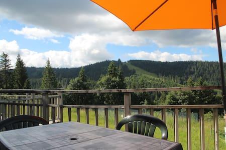 Duplex avec vue imprenable / 100% calme et nature - Appartement