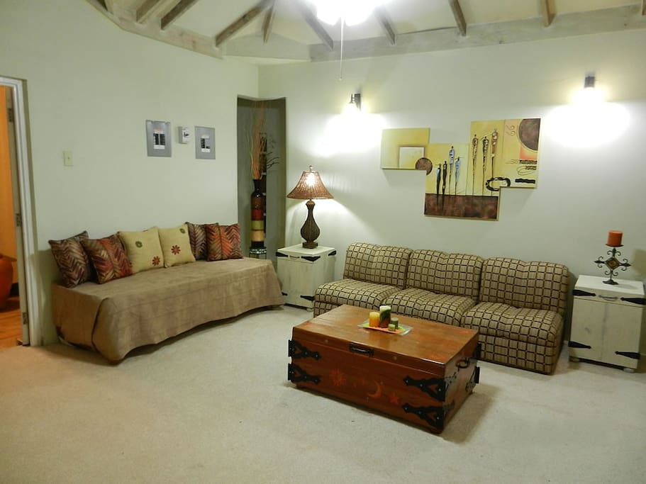 The Living Space...
