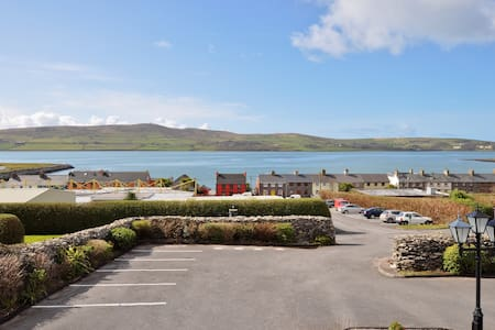 A warm Irish welcome awaits you at The Dingle Harbour Lodge. This beautiful purpose built premises with stunning sea views, combines a touch of class with traditional Irish friendly hospitality.