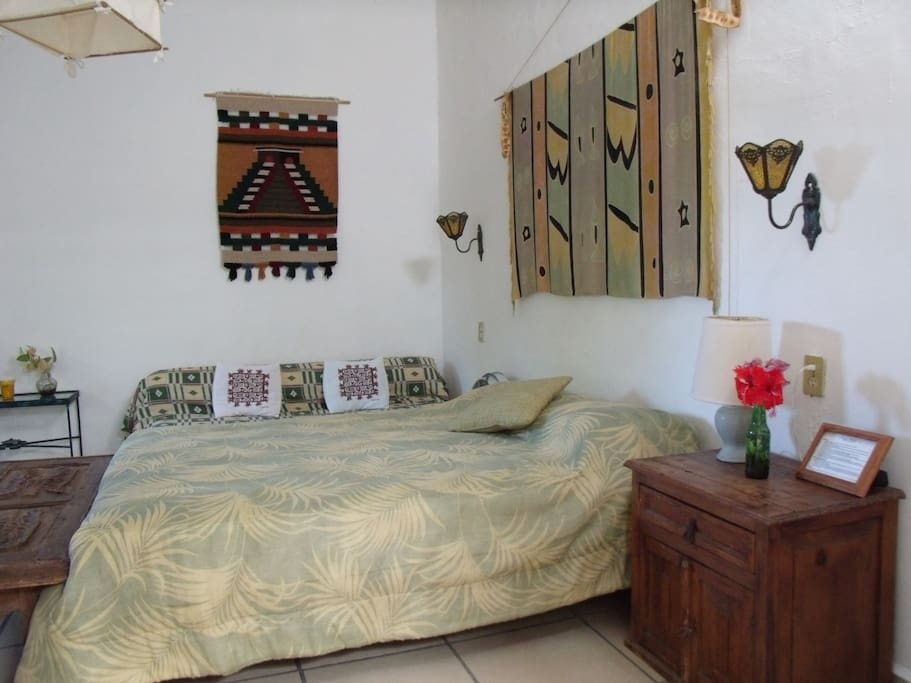 Casitas Kinsol Guesthouse in Puerto Morelos - near Cancun - (website hidden) - Room #5 - one double-sized bed