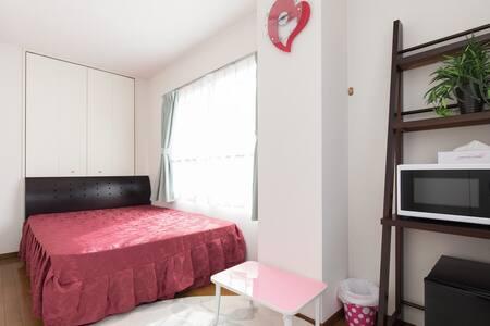 川口駅から徒歩6分 清潔で明るい個室 2名宿泊可 FreeWi-Fi有 - Kawaguchi-shi - Apartment
