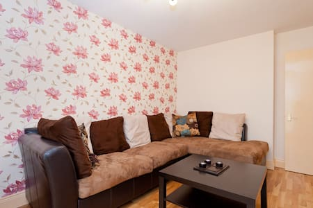 My 1 bed beautifully decorated apartment is perfect for your short term stay, equipped with all modern appliances and every need for daily living, walkable distance to several attractions of Dublin city center, luas and train station is 5 mins walk.