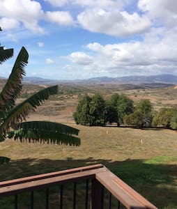Peaceful views for ultimate relaxation in the gently rolling hills of Fallbrook, CA.  Privacy and expansive mountain views stretch for miles.  Enjoy the sunsets over the hills to the ocean any time of year.