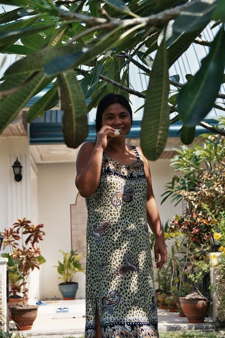 Paraluman - host, owner, heart and soul of Villa Hager.