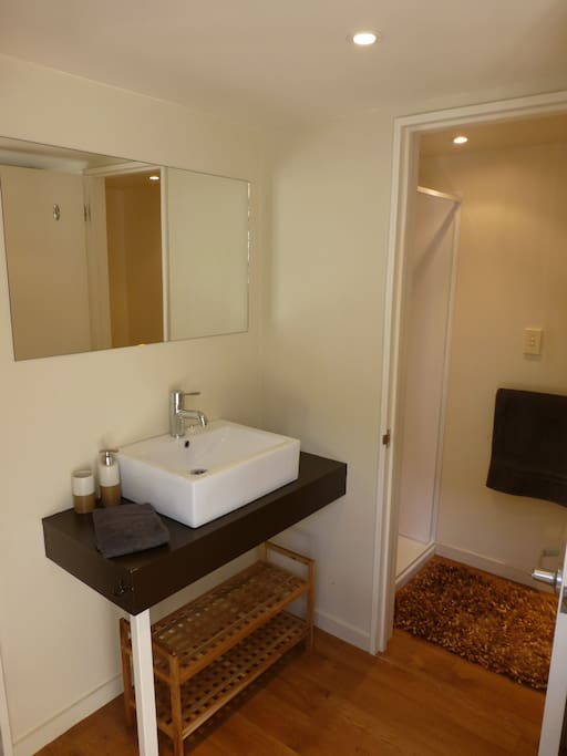 Ensuite shower room and toilet.