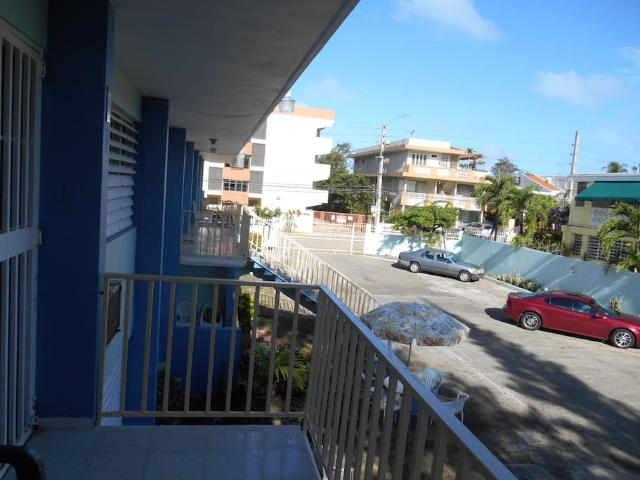 1 bedroom steps from the beach!