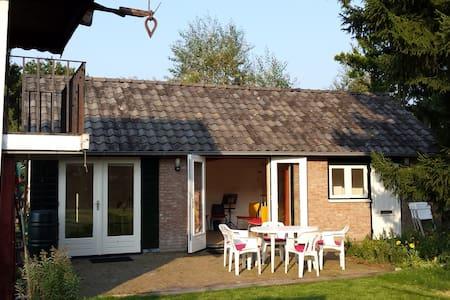Gardenhouse next to Nat.Park Utrechtse Heuvelrug - Kisház