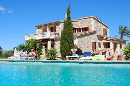 Finca Sa Vinya, Buger Mallorca - Búger - Villa