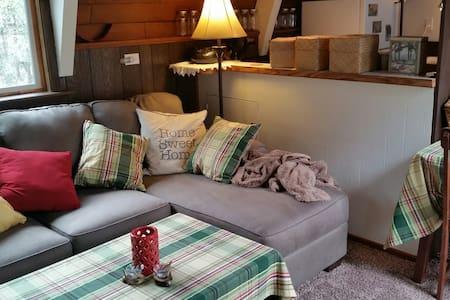 Cute, Romantic Cabin close to LA - Pine Mountain Club - Stuga
