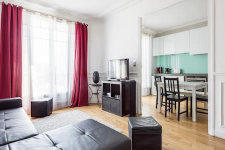Spacious apartment- 15 min from Champs Elysées - Saint-Ouen - Appartamento