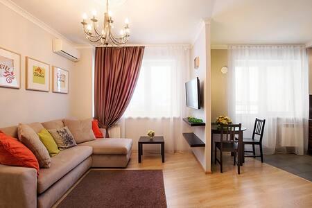 Современная квартира Токарей 26 9 этаж - Apartment