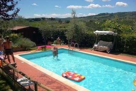 Tognazzi Casa Vacanze - Appartamento Salvia - Gambassi Terme - Apartmen