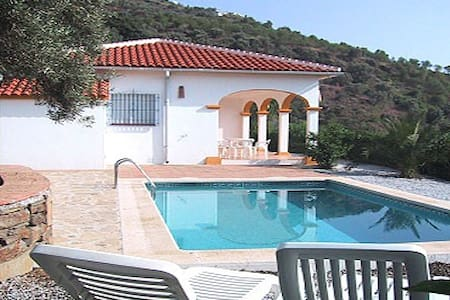 Villa La Frasca with private Pool - Sayalonga - Casa