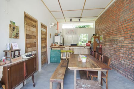 【Durian Guesthouse 流连宿】❀ Double Room B ❀ - Szoba reggelivel
