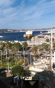 Très belle vue sur le port - Appartement