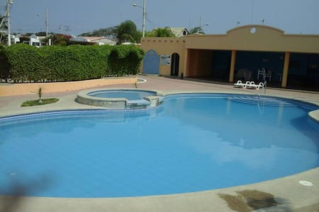 COMPLETE FURNISHED HOUSE IN SALINAS BEACH-ECUADOR - House