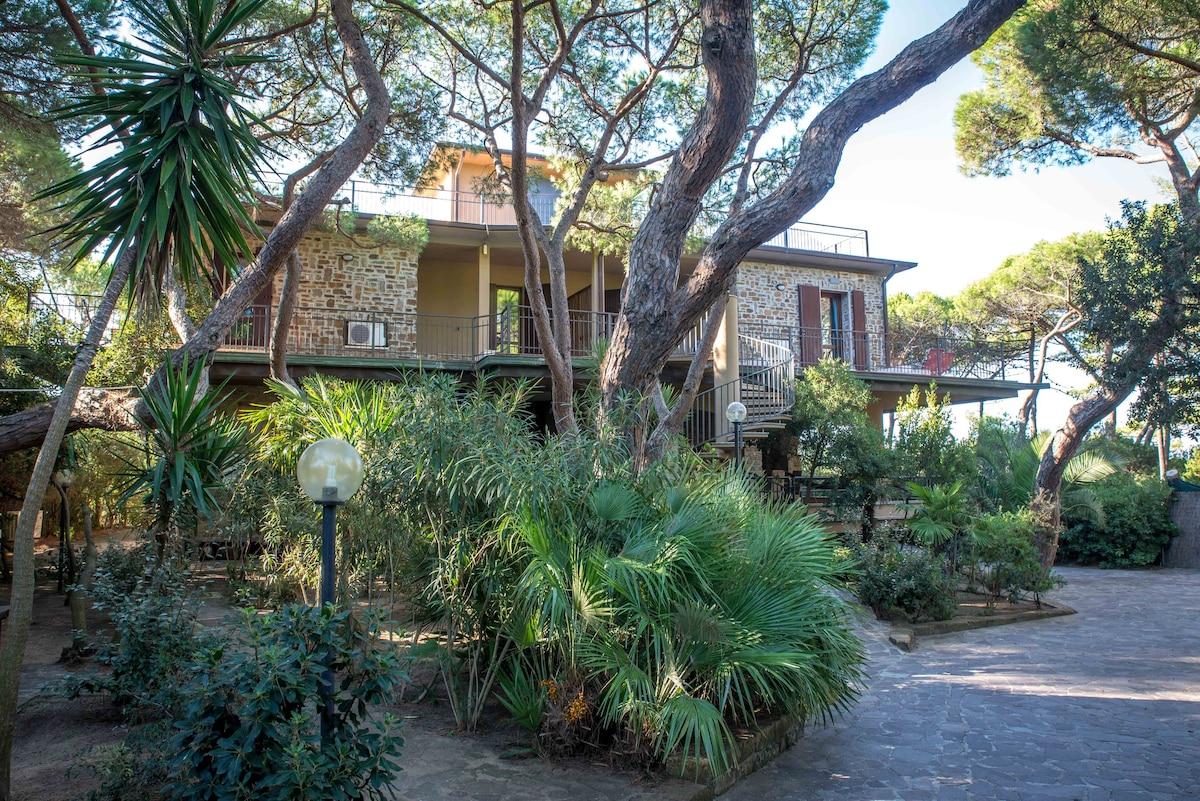 Villa in Toscana al mare in affitto a buon mercato