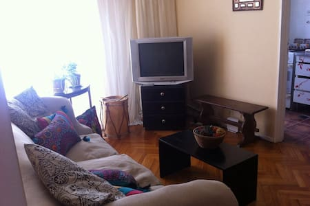 Warm and lightfull apartment, very well located - Olivos