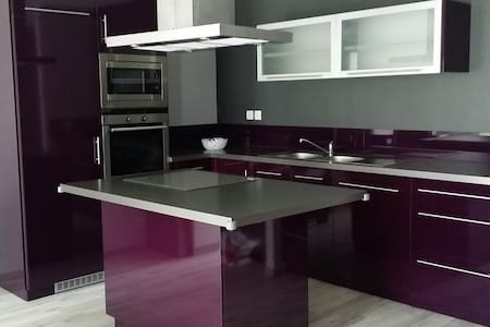 GITE DE CHARME AVEC TERRASSE ET TERRAIN 6 PLACES - Wohnung