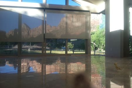 Zion Riverside Infinity edge pool - House
