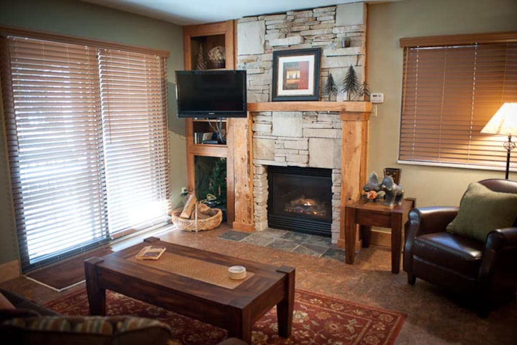 Superb living space in Red Pine at the Canyons.