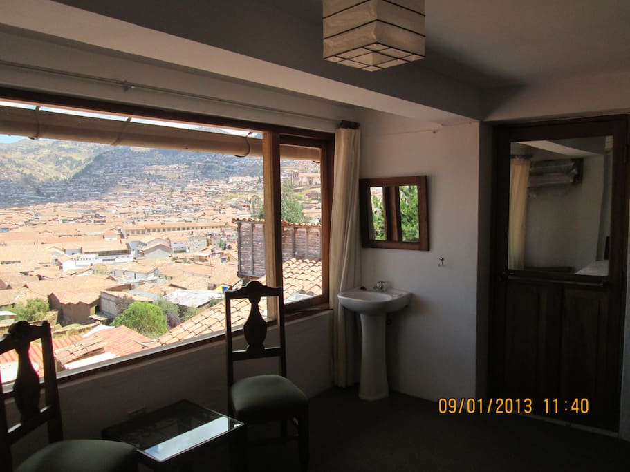 Your own private view of Cusco