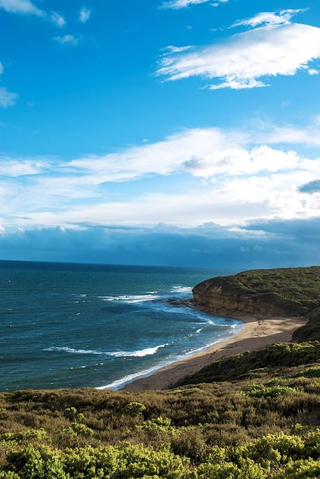 Short drive to beaches including the world famous Bells Beach