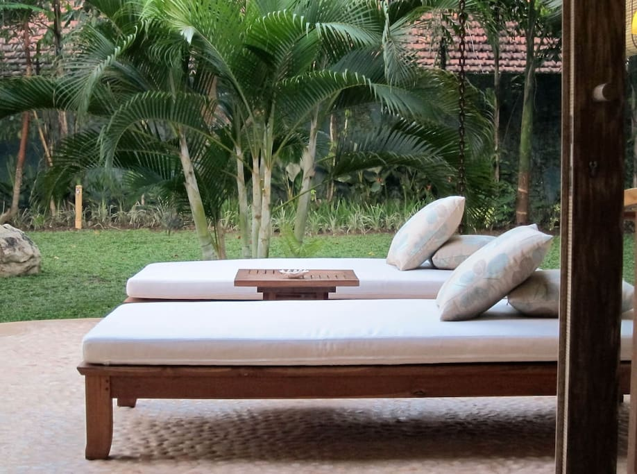 Relax in the privacy of your own garden.