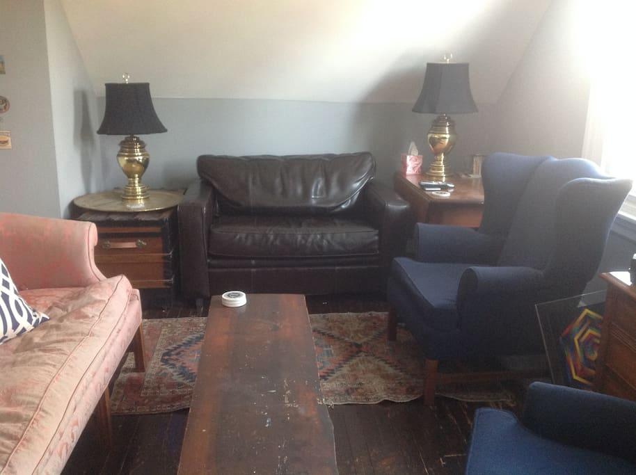 Den with Twin Sleeper Sofa