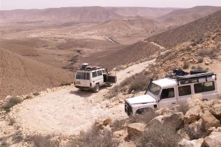 Tobiana in Ezuz desert lodging  - Earth House