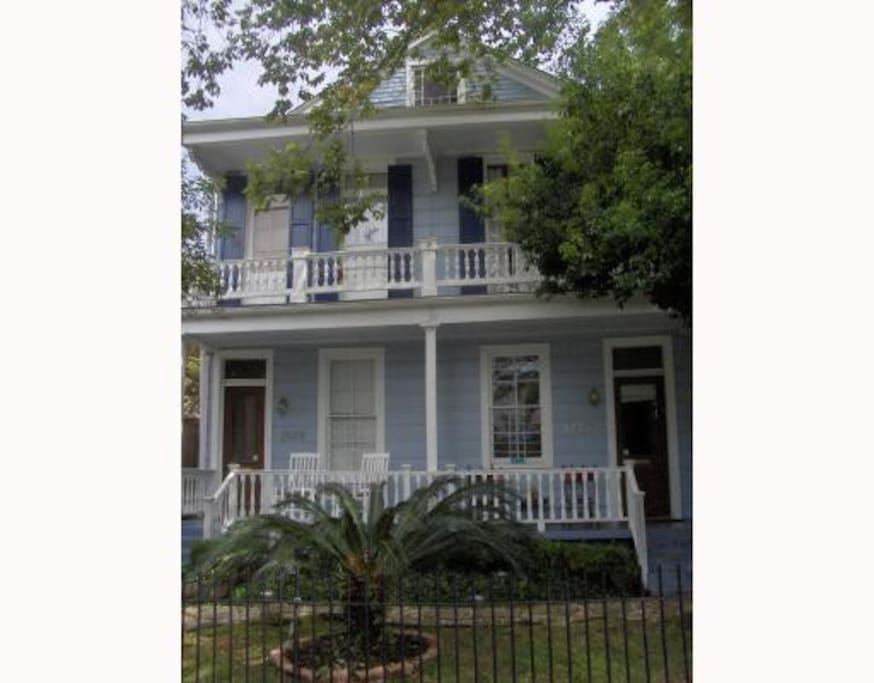 Our house was built in the 1850s and has some really cool architectural elements!