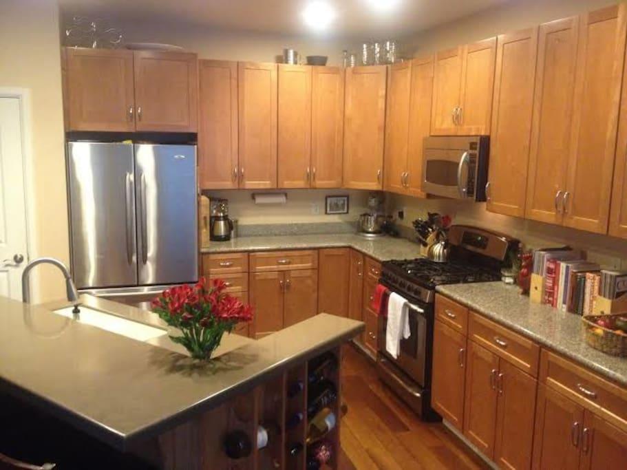 Kitchen - - shared common area