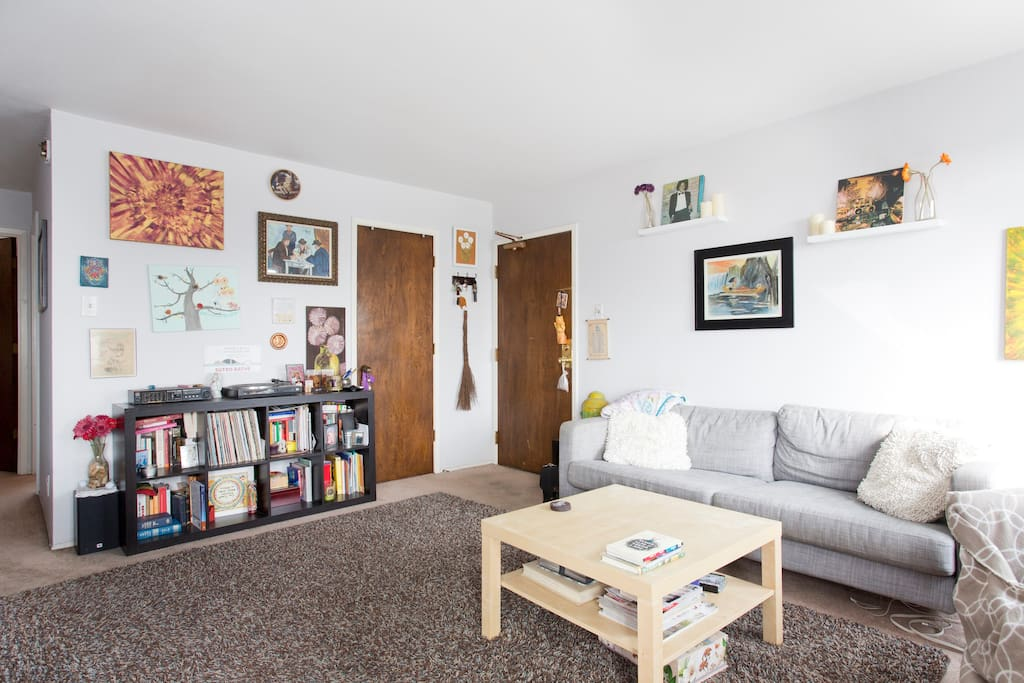 Bright,Cozy Room in Beach View Apt