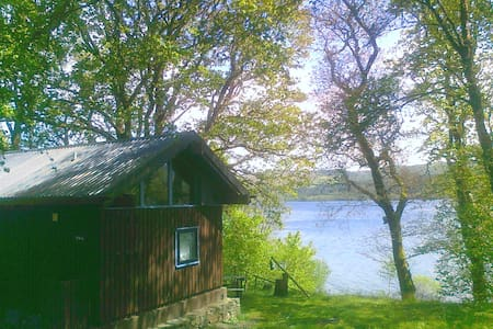 Sloy cabin, with wood fired hot tub - Argyll and Bute - Cabaña