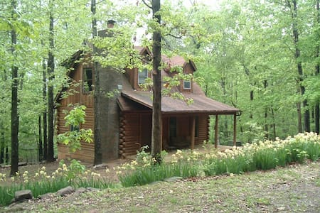 A Cozy Cabin in the Ozark Woods - Cabanya