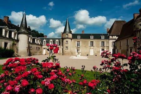 Chateau de Lalande, 'Chambre Rose' - Hrad