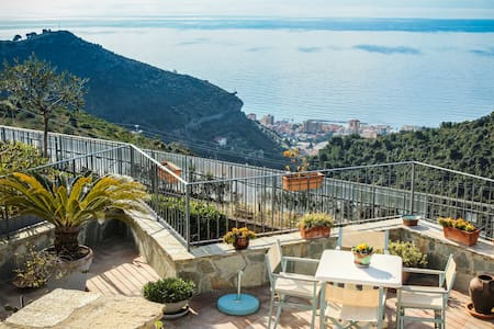 Charming apartment view Montecarlo - Camporosso - Apartamento