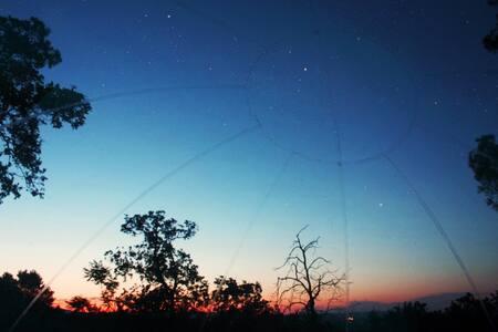 Liggend naar de sterren kijken! - Luddeweer - Apartment