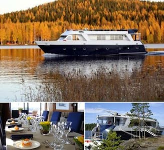 Romantic cruise in rural Finland - Boot