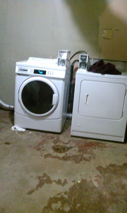 Laundry Facility inside the house