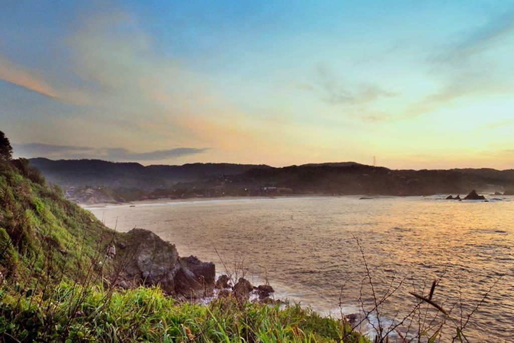 Baño Discapacitados Reglamento:Espléndida casa de playa en Oaxaca – Houses for Rent in Puerto Ángel