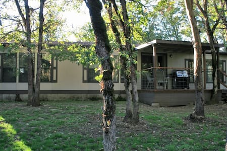 The Ranch House sits on 5 acres!
