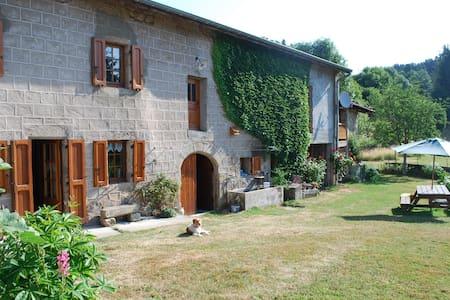 Ancienne ferme Auvergnate restaurée - Églisolles