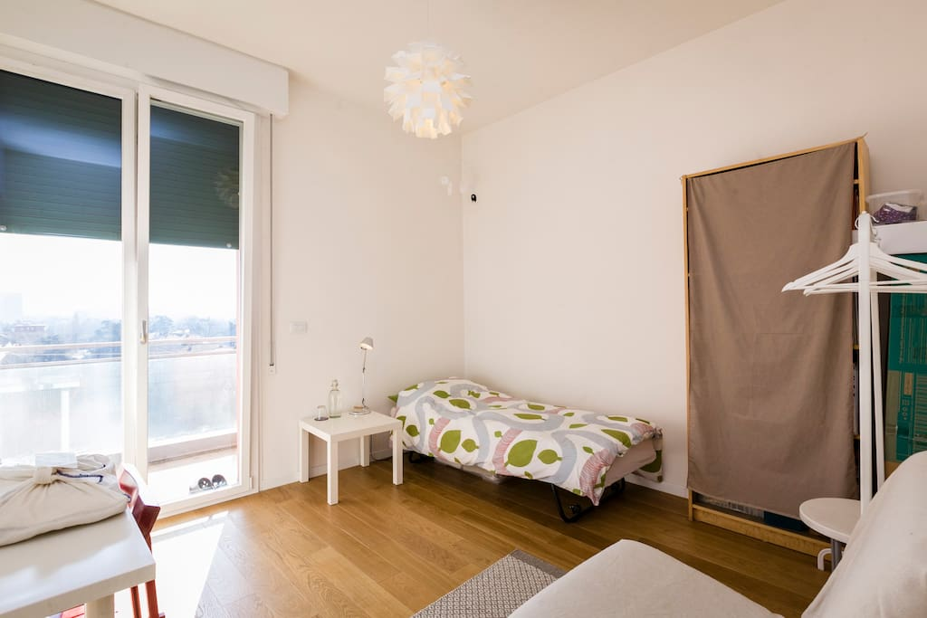 YOUR BED ROOM IS ON THE  CORNER AND NEXT TO THE BATHROOM. COMPLETE PRIVACY FOR YOU