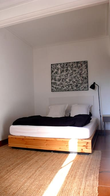 Room 1: large, bed 160x200cm, with closet