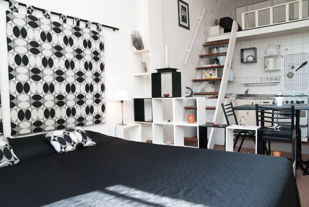 Nice loft: in the heart of BA. WIFI