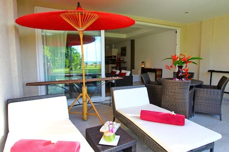 Studio14 Beach&Pool front 2+2kids - Ko Chang - Apartment