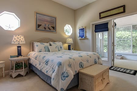 Amelia Island Beachy Clean Getaway-Late check out! - Fernandina Beach - House